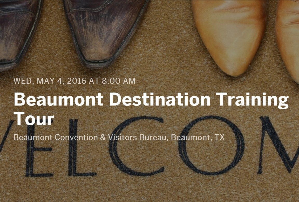 tourism currents beaumont cvb destination training header photo