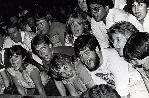 Get your online champions talking! (Texas A&M yell practice courtesy the University's Cushing Memorial Library at Flickr CC)