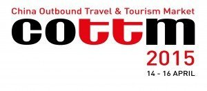 Tourism Currents is a media sponsor for COTTM 2015 China Outbound Travel and Tourism Market