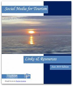 Social Media for Tourism Links and Resources book
