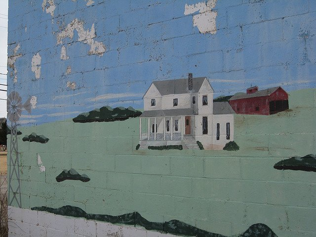Okeene OK mural (courtesy BJMcCray on Flickr CC)