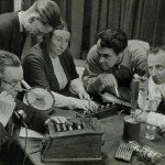 Recording a radio play in the Netherlands, 1949 (courtesy Nationaal Archief on Flickr Commons)