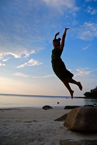 Jump for Joy (courtesy moonsheep on Flickr CC)