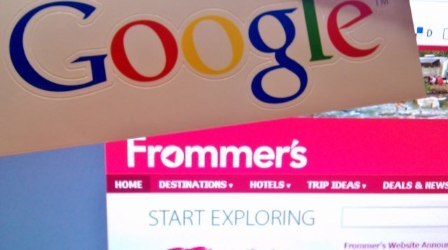 Google acquires Frommer's (photo courtesy Becky McCray for Tourism Currents)