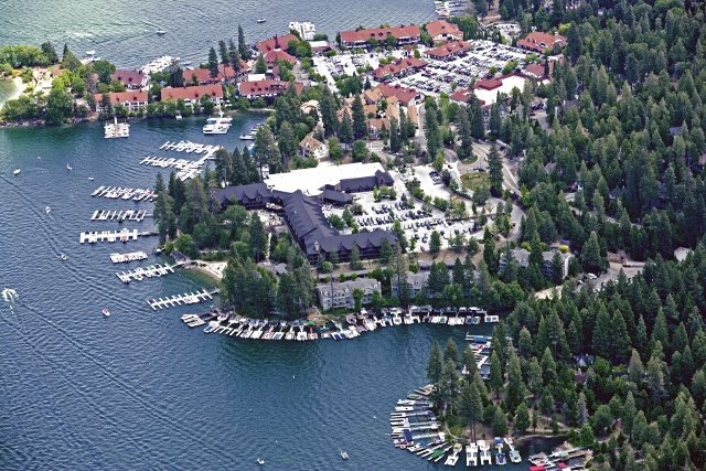 Lake Arrowhead CA in summer (courtesy LARTA)