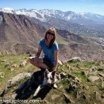 Erika Wiggins The Active Explorer hikes Mount Van Cott Salt Lake City (courtesy The Active Explorer on Facebook)