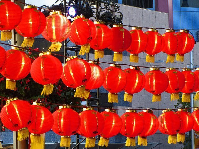 Chinese lanterns (courtesy Newtown grafitti on Flickr CC)