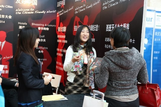 COTTM (China Outbound Travel and Tourism Market) trade show on outbound travel from China (photo courtesy COTTM)