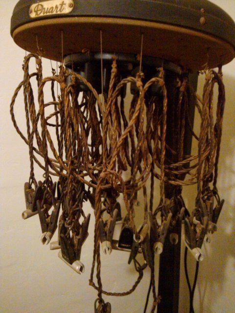 Duart permanent wave hair machine in the Pioneer Museum Sweetwater Texas (photo by Sheila Scarborough)