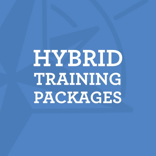 Hybrid Social Media Training Packages combining email, webinars, and workshops