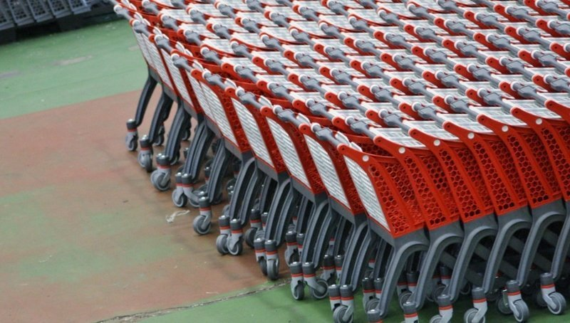 Nested shopping carts (courtesy Polycart on Flickr Creative Commons)