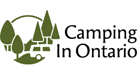 Camping in Ontario logo for Tourism Currents client listing