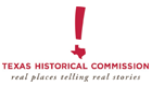 Texas Historical Commission logo for Tourism Currents client listing