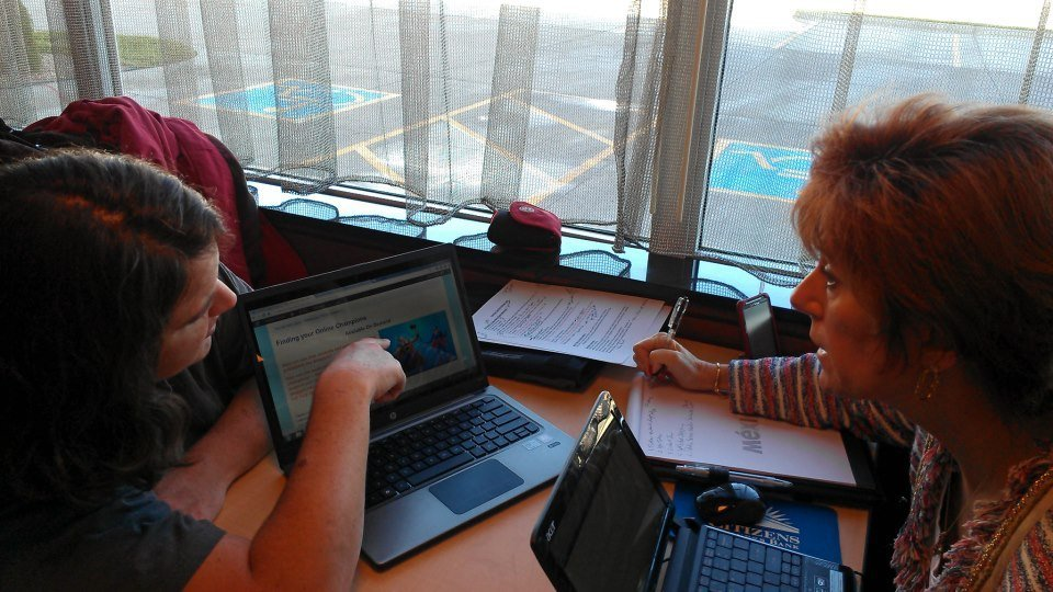 Working out the online course details at Tourism Currents