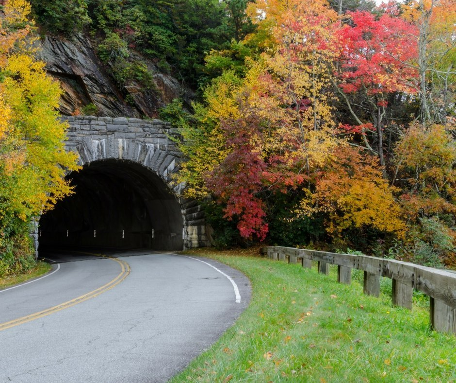 What's around the corner or through the tunnel on a scenic byway