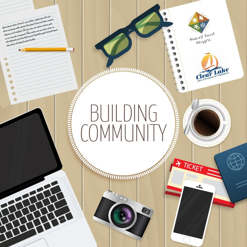 Building Community conference May 2018 Clear Lake Iowa logo