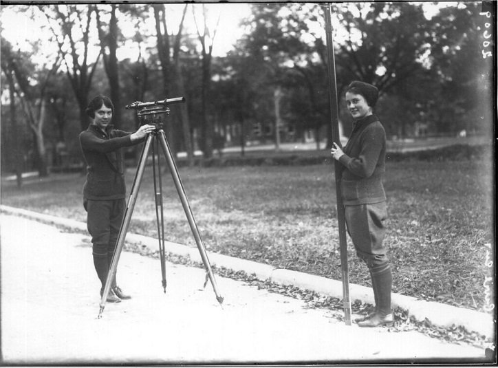 Two women in surveying class 1921 (courtesy Miami University Libraries Miami of Ohio on Flickr Commons) Tourism Survey Results 2019 Social Media and Digital Destination Marketing