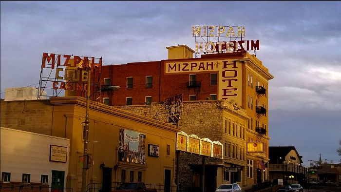 Small hotel marketing is key for a property like the Historic Mizpah Hotel in Tonopah Nevada (photo by Leslie McLellan)