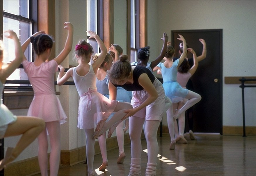How training helps ballet class example JS Stewart on Picfair