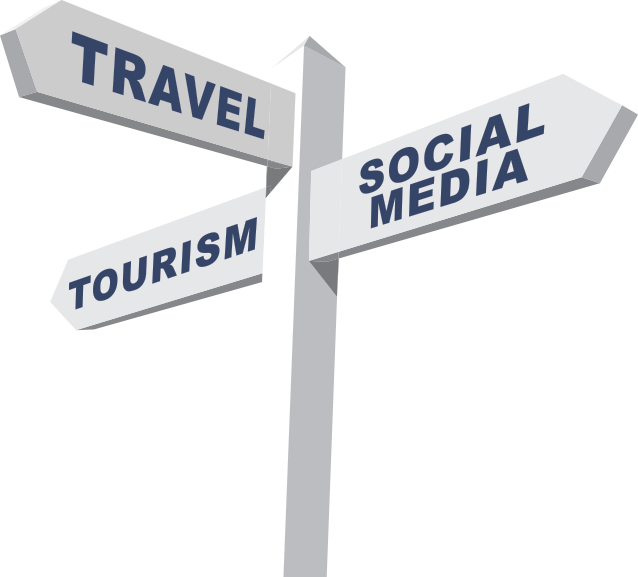 Partial Tourism Currents logo signpost for homepage slider